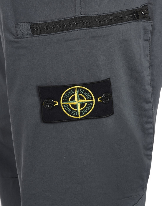 13107926li - PANTS - 5 POCKETS STONE ISLAND