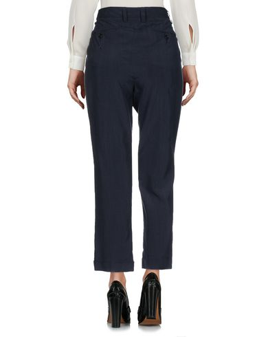 Фото 2 - Повседневные брюки от ASPESI темно-синего цвета