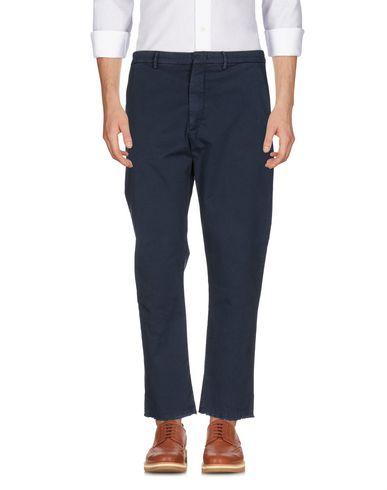 Фото - Повседневные брюки от PENCE грифельно-синего цвета