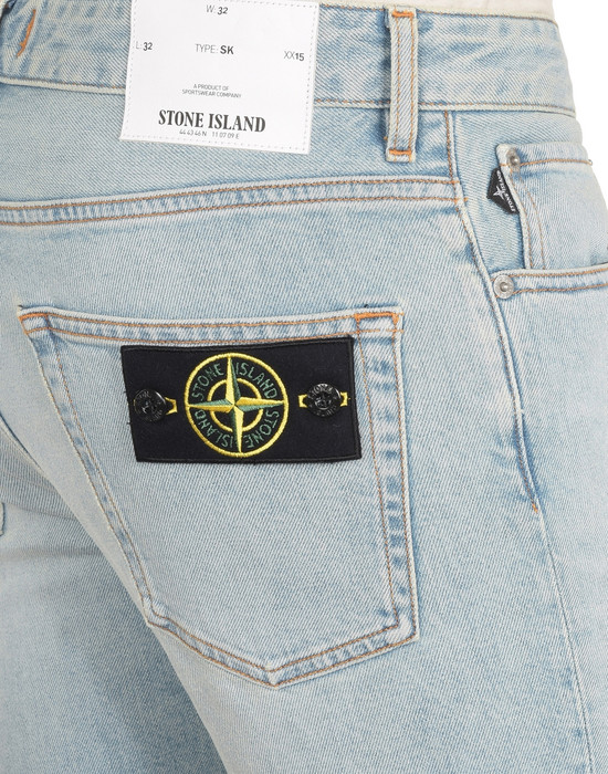 13108254hr - PANTS - 5 POCKETS STONE ISLAND