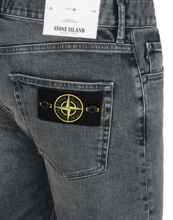 13108299la - PANTS - 5 POCKETS STONE ISLAND