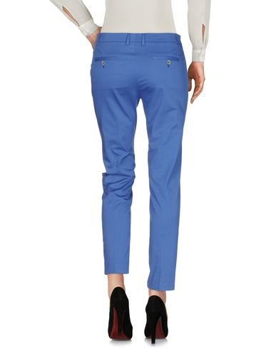 Фото 2 - Повседневные брюки от QL2  QUELLEDUE синего цвета