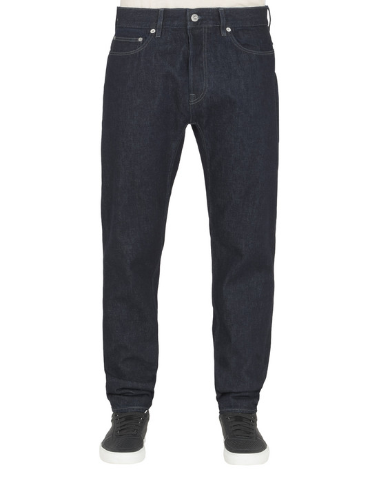 PANTS - 5 POCKETS J03I1 RE-T_WASH STONE ISLAND - 0