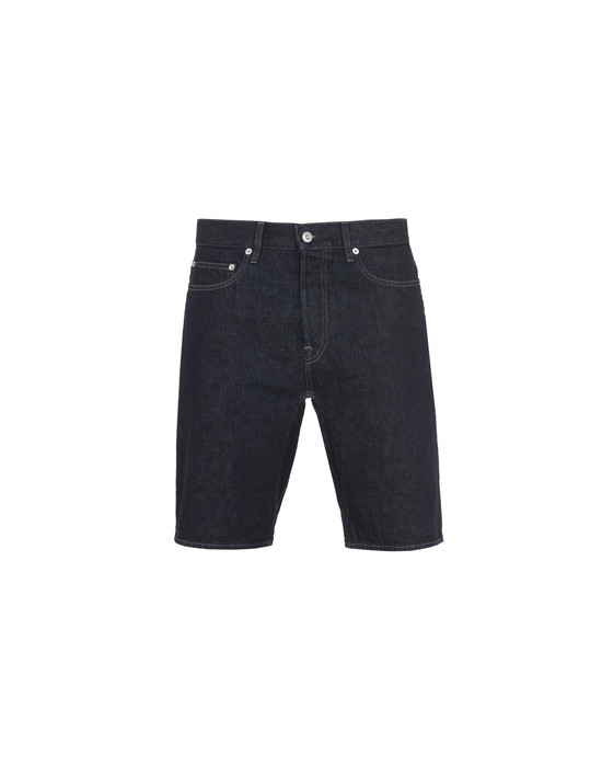 STONE ISLAND Denim bermudas L13I1 RE T_WASH