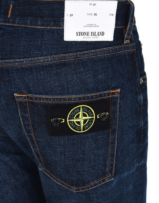 13108610es - TROUSERS - 5 POCKETS STONE ISLAND