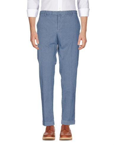 Фото - Повседневные брюки от BRIGLIA 1949 синего цвета