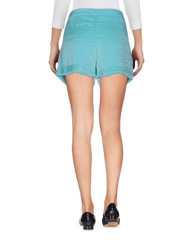 Фото 2 - Повседневные шорты бирюзового цвета