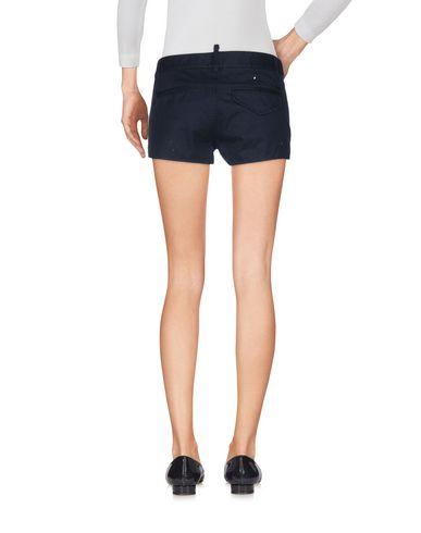 Фото 2 - Повседневные шорты темно-синего цвета