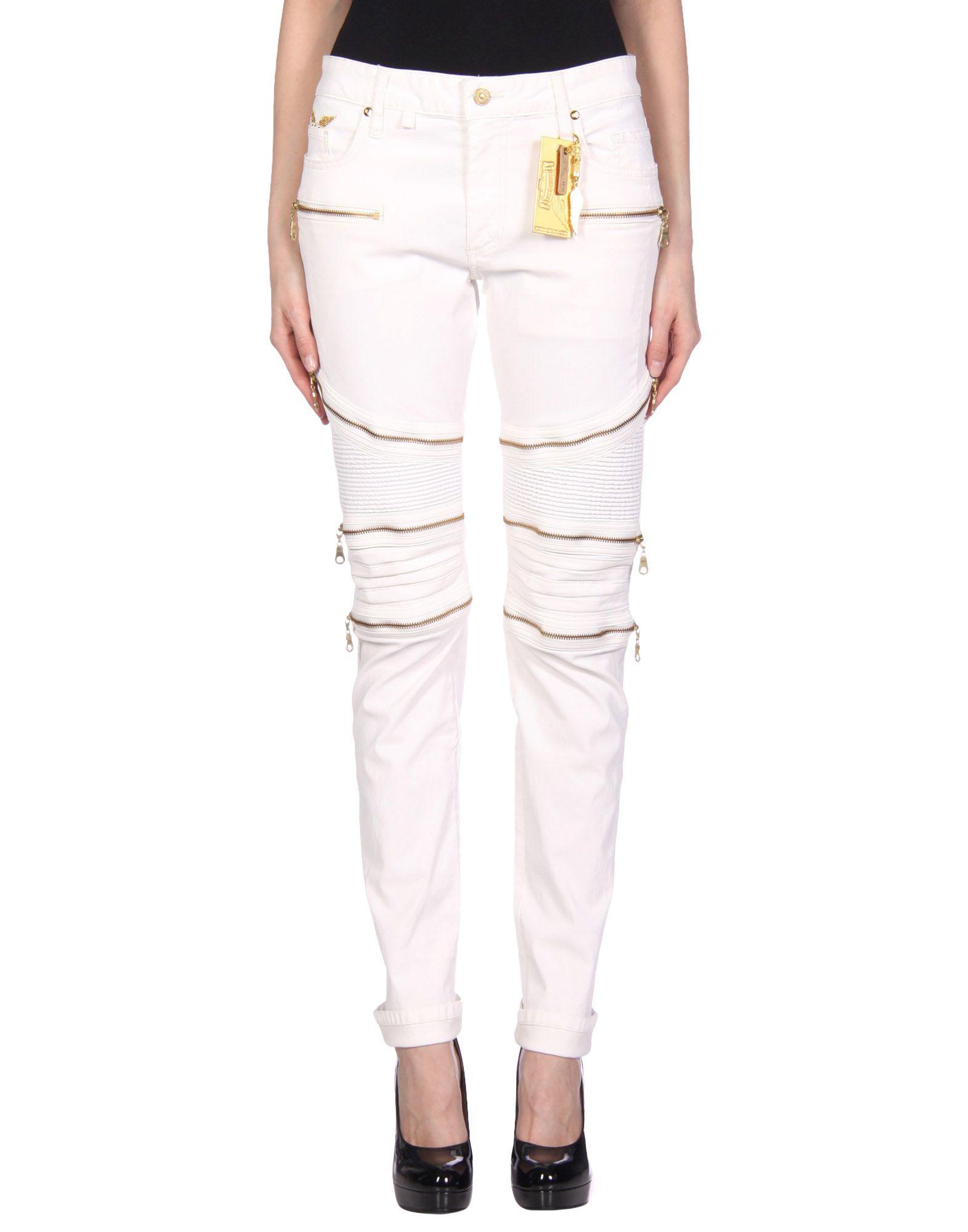 ROBIN'S JEAN Casual Pants in White