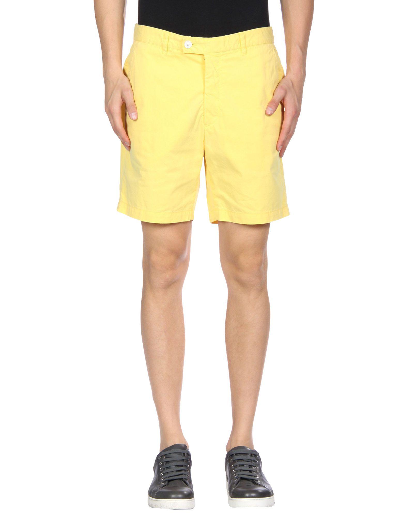 HENTSCH MAN Shorts in Yellow