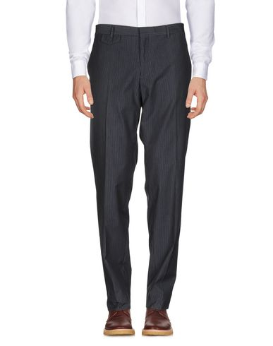 Фото - Повседневные брюки от PAOLONI темно-синего цвета