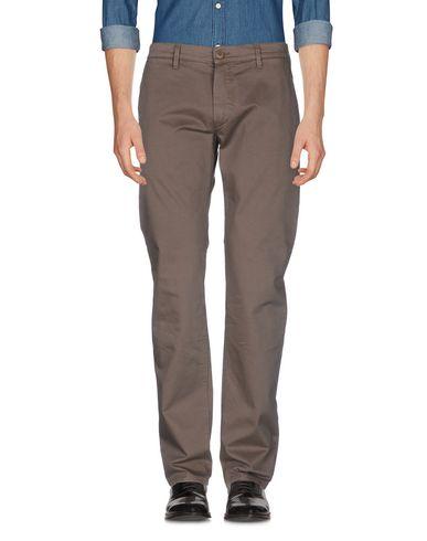 Фото - Повседневные брюки от FAY цвет голубиный серый