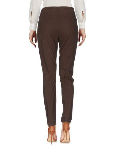 Фото 2 - Повседневные брюки от MALÌPARMI темно-коричневого цвета