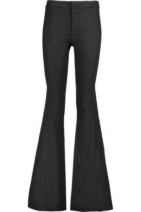 DEREK LAM 10 CROSBY Linen-blend bootcut pants