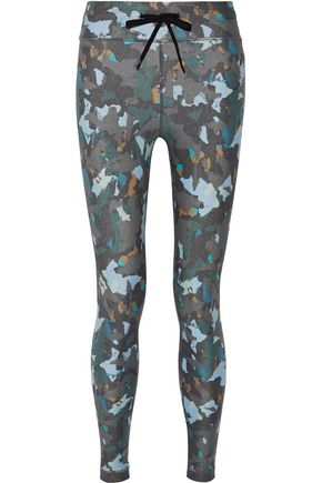 THE UPSIDE Masquerade printed stretch leggings
