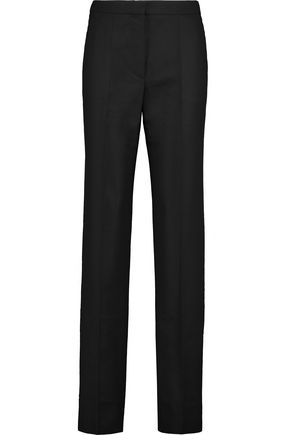 NINA RICCI Wool-blend felt straight-leg pants