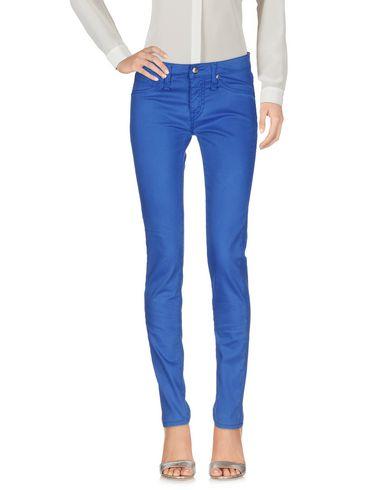 Купить Повседневные брюки ярко-синего цвета