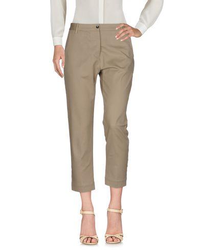Фото - Повседневные брюки от NINE:INTHE:MORNING цвета хаки
