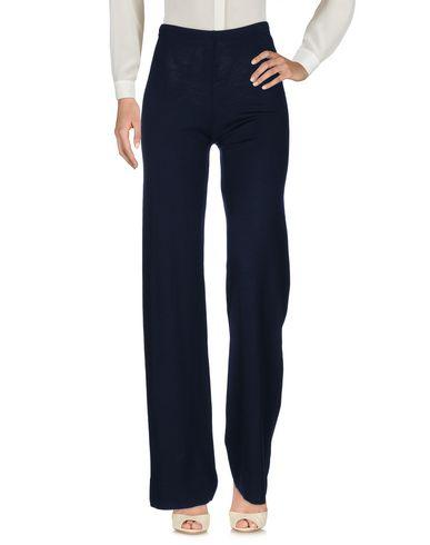 Фото - Повседневные брюки от NEERA темно-синего цвета