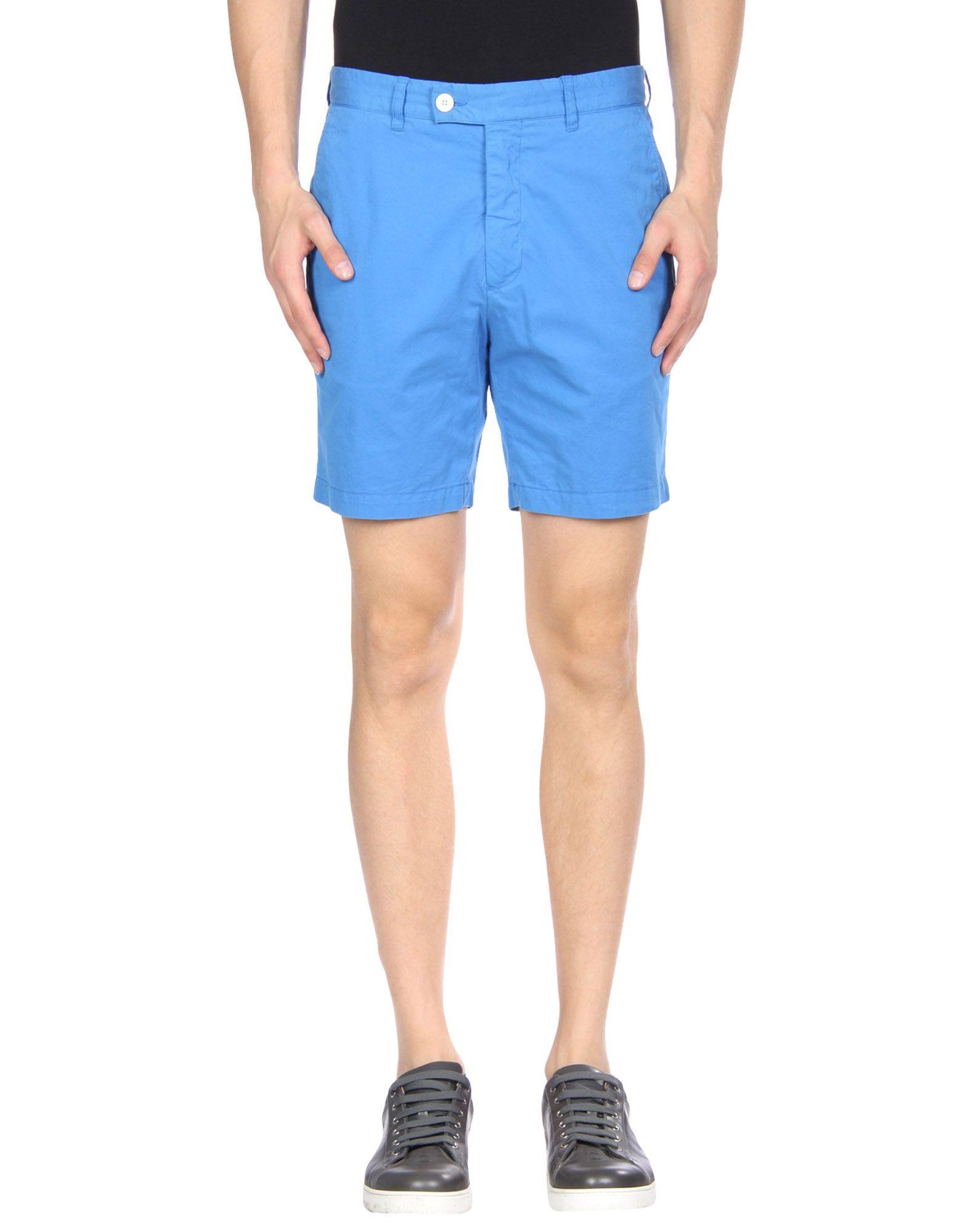 HENTSCH MAN Shorts in Azure