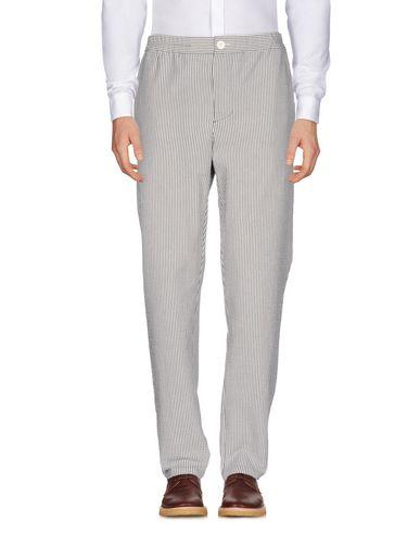 Фото - Повседневные брюки от BIG UNCLE белого цвета
