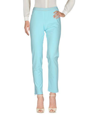 Купить Повседневные брюки от VDP COLLECTION небесно-голубого цвета
