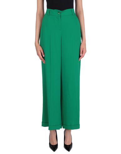 Фото - Повседневные брюки от TWINSET зеленого цвета