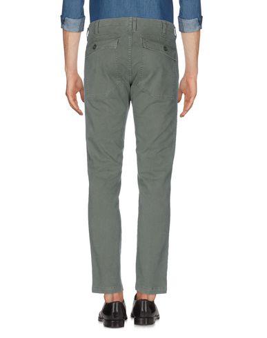 Фото 2 - Повседневные брюки от DEPARTMENT 5 цвет зеленый-милитари