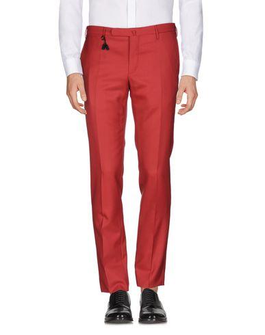Фото - Повседневные брюки от INCOTEX красно-коричневого цвета