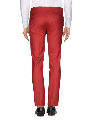 Фото 2 - Повседневные брюки от INCOTEX красно-коричневого цвета