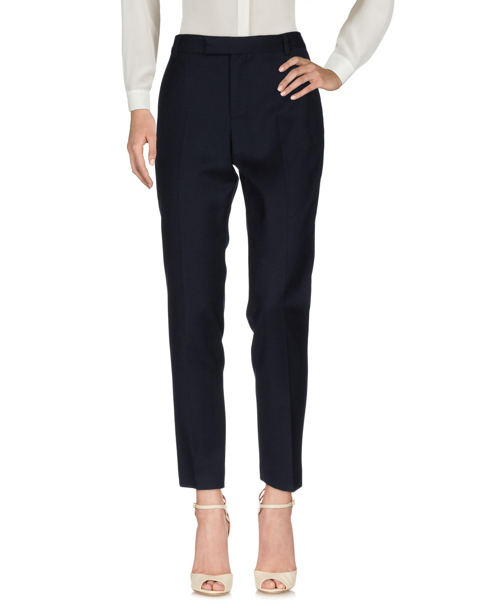 MARC BY MARC JACOBS Повседневные брюки ruibi ka marc rebecca тонкий брюки карандаш пригородный костюм брюки тонкие брюки 72012k темно серый код m