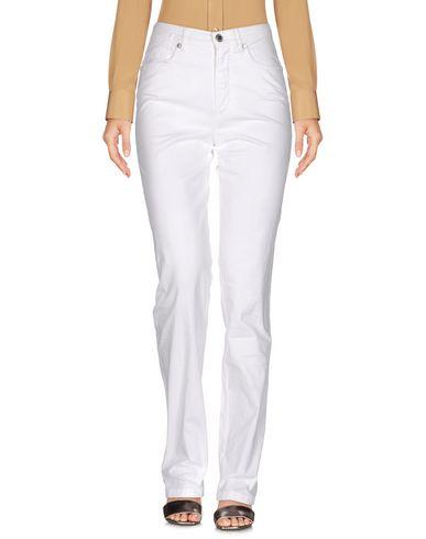 Фото - Повседневные брюки от JEANS LES COPAINS белого цвета