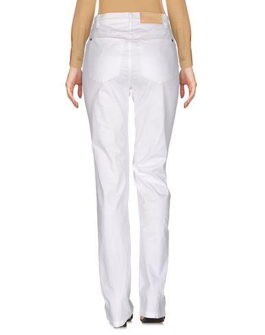 Фото 2 - Повседневные брюки от JEANS LES COPAINS белого цвета