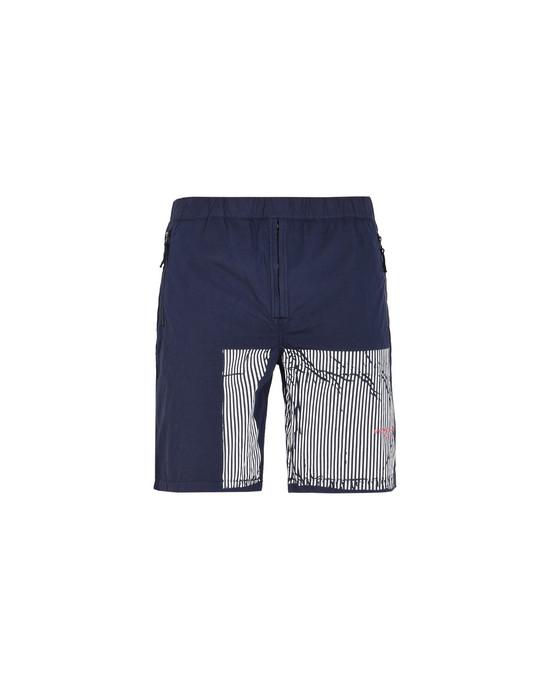 STONE ISLAND Bermuda shorts L01XX STONE ISLAND MARINA_50 FILI + FOLDED MARINA PRINT