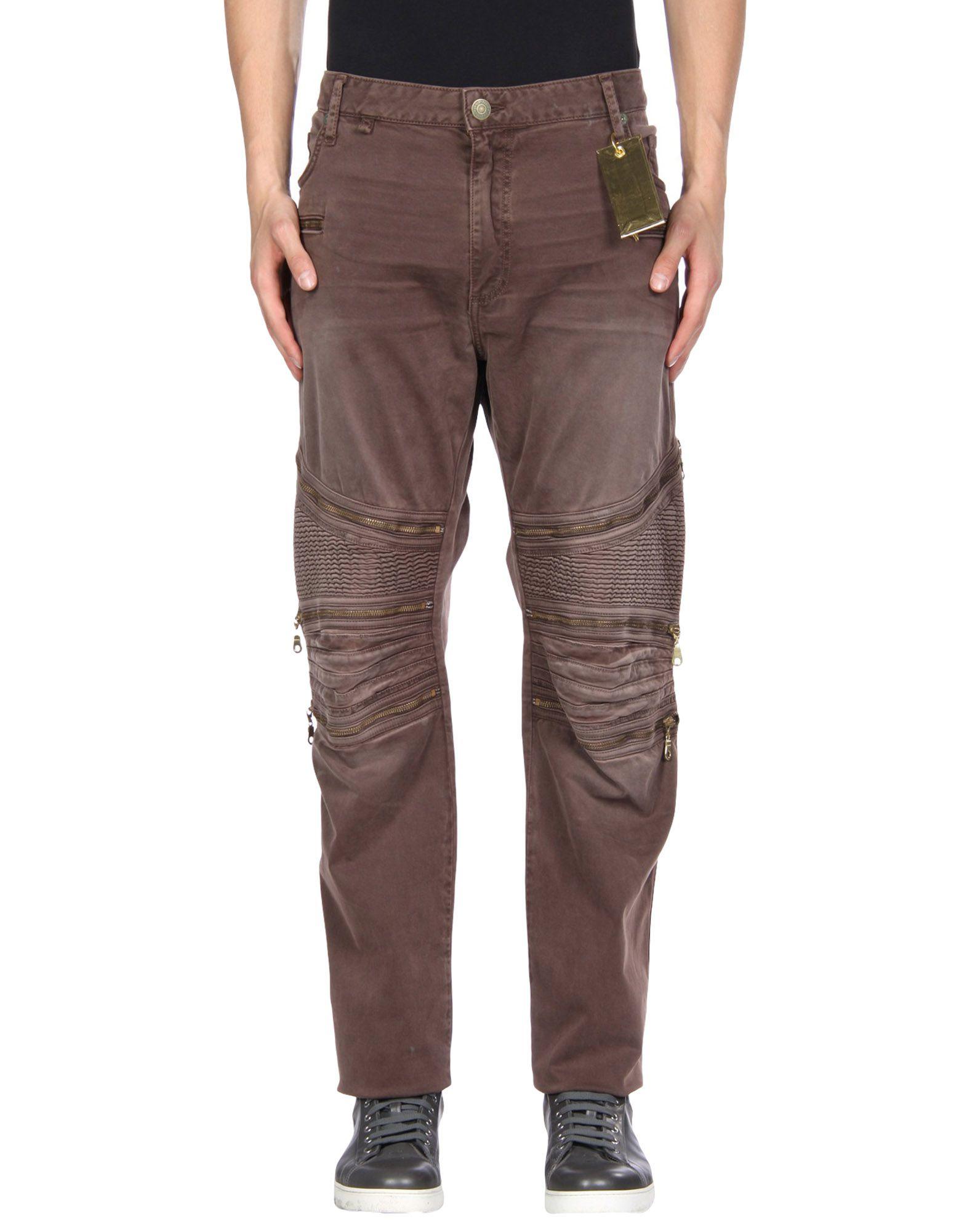 ROBIN'S JEAN Casual Pants in Brown