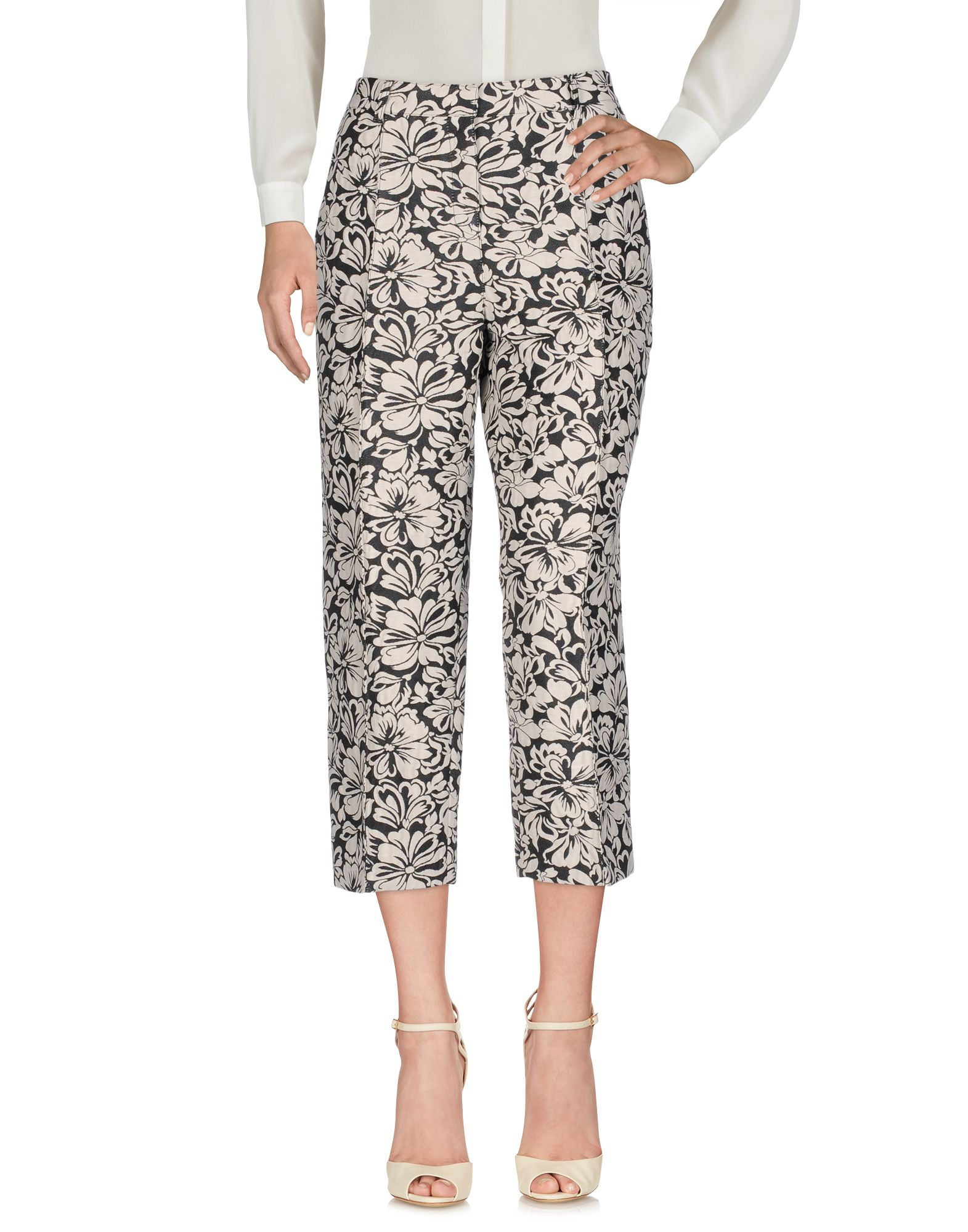 ATOS LOMBARDINI Cropped Pants & Culottes in Black