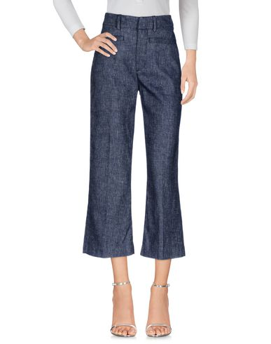 Купить Джинсовые брюки темно-синего цвета