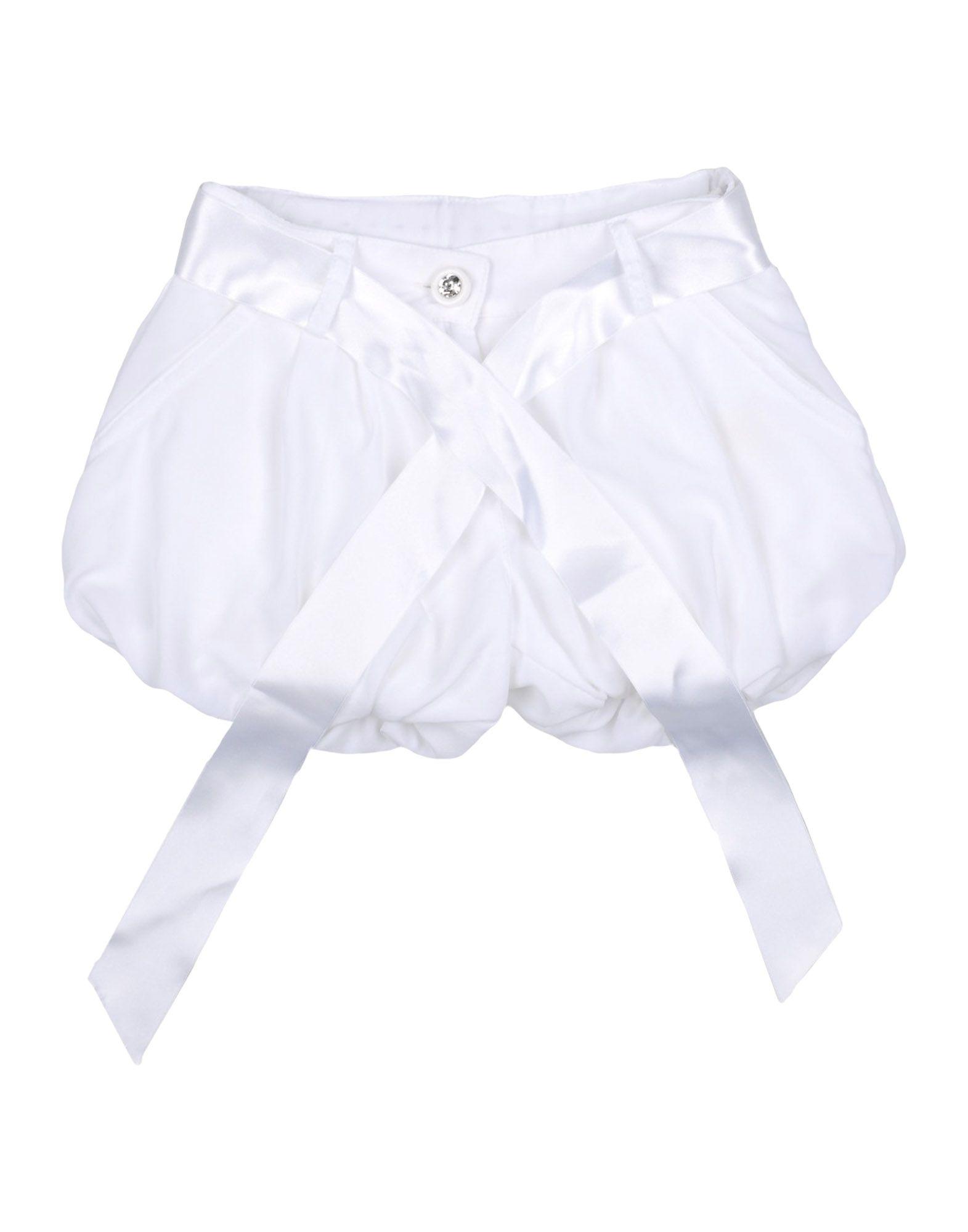 MISS BLUMARINE Повседневные шорты шорты miss bonbon шорты