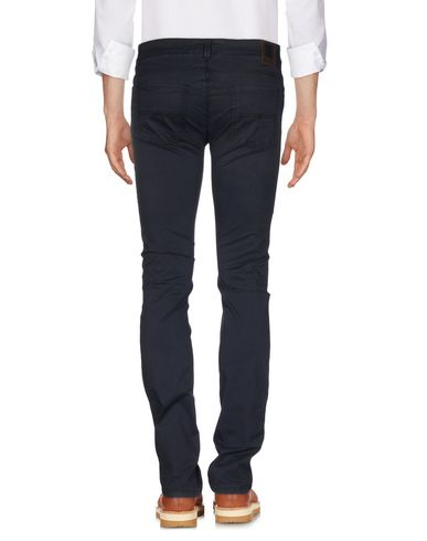 Фото 2 - Повседневные брюки от FAY темно-синего цвета