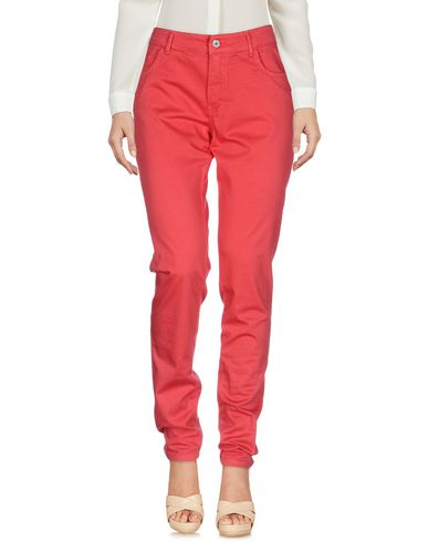 Купить Повседневные брюки красного цвета