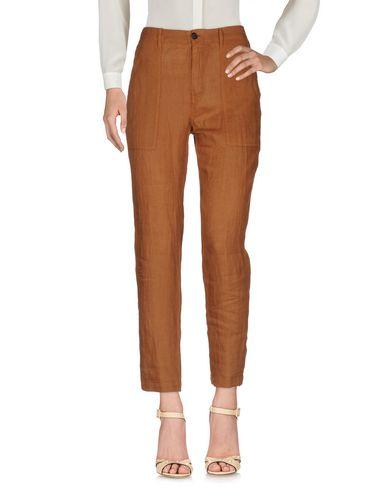 Фото - Повседневные брюки от BARENA коричневого цвета