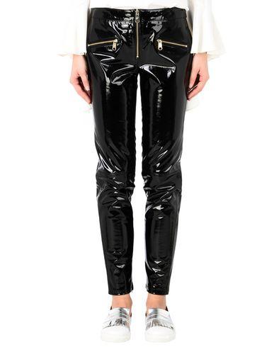 Фото - Повседневные брюки от TOMMY HILFIGER x GIGI HADID черного цвета