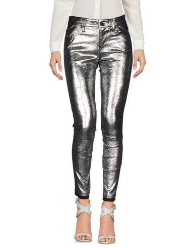 Фото - Повседневные брюки от RTA серебристого цвета