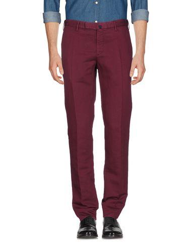 Фото - Повседневные брюки от INCOTEX цвет баклажанный