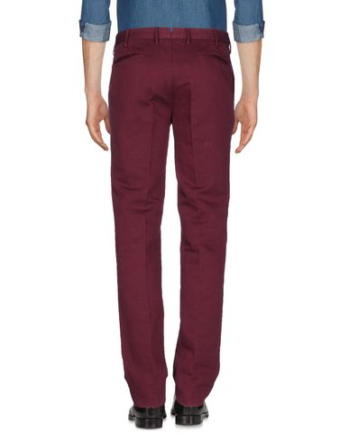 Фото 2 - Повседневные брюки от INCOTEX цвет баклажанный