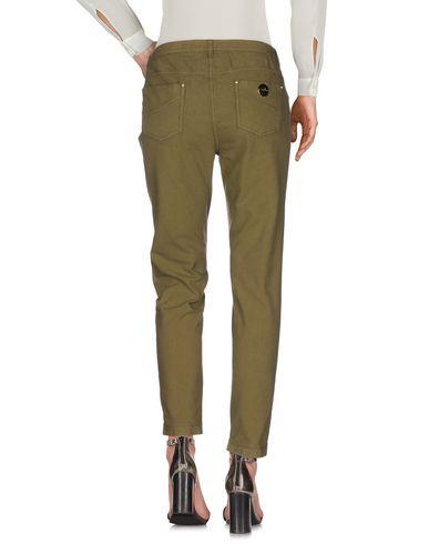 Фото 2 - Повседневные брюки цвет зеленый-милитари