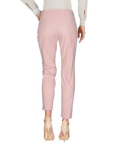 Фото 2 - Повседневные брюки от MALÌPARMI ржаво-коричневого цвета