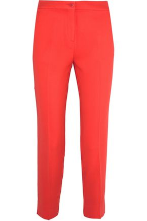 ETRO Cropped crepe slim-leg pants