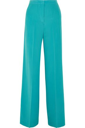 ETRO Silk crepe de chine wide-leg pants