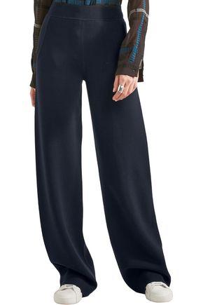 BOTTEGA VENETA Wool-blend wide-leg pants